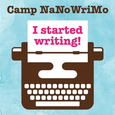 Camp NaNo July 2017 Start